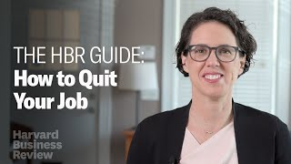 How to Quit Y๐ur Job: The Harvard Business Review Guide