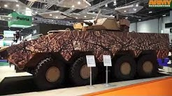 Patria AMV XP 8x8 armoured vehicle Extra Payload Performance Protection Mika Kari President Land
