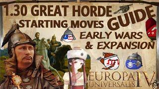 EU4 1.30 Great Horde Guide 2020 I Early Wars & Forming Golden Horde