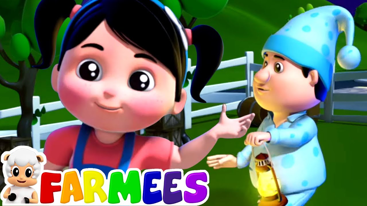 We Willie Winkie | Nursery Rhymes & Songs for Babies | Kids Songs | Animal Cartoon by Farmees