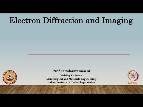 Lec 31 - Energy dispersive Spectroscopy