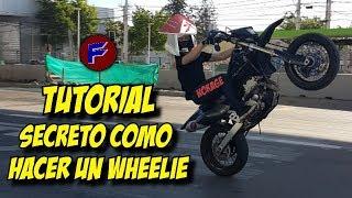 ESPECIAL 10.000 SUBS | TUTORIAL SECRETO COMO HACER WHEELIE EN CUALQUIER MOTO - MotoVlog SoyFoxer