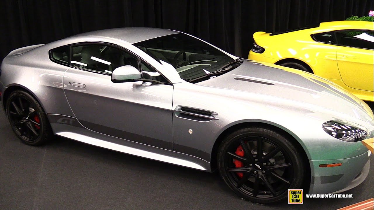 Aston Martin Vantage GT Coupe Exterior And Interior - Aston martin gt