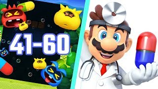 Dr. Mario World Level 41- 60 3-Stars Walkthrough
