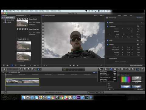 GoPro Protune Importing and Color Correction (FCPX)