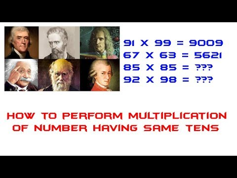 Multiplication of numbers having same tens and ones digits sum is 10
