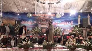 Arfana Kalam Urdu (Tujhe Kya Sunau Ay Dilruba) by Rafiq chishti in Mehfil e Naat okara 2015
