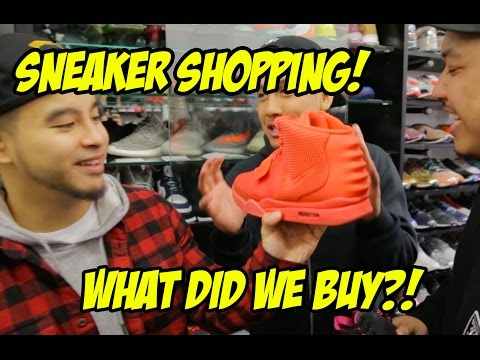 SNEAKER SHOPPING AT THE BEST CONSIGNMENT SHOP IN NEW YORK!