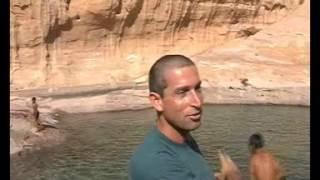 אתר השטח 4X4 סרט ממסע חוצה הממלכה ההאשמית של ירדן