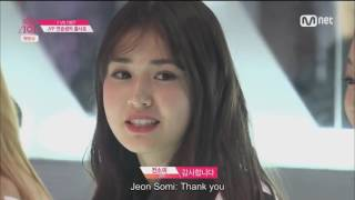 Jeon Somi (전소미) in Produce 101 - First Appearance