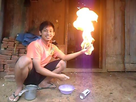 cara pengendalian api sederhana