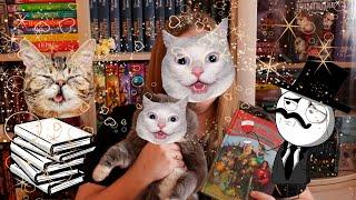 КОНКУРС+КОТЫ+КНИГИ // Сколько котов живет у меня дома?
