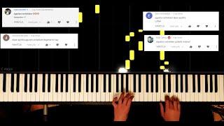 @Alper Ayyıldız - Ağustos Sırılsıklam - Piano by VN