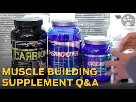Top Muscle-Building Supplements - Forbes