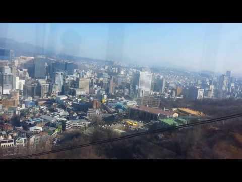 Cable Car, Namsan, Seoul, Korea, N Tower, Namsan Tower, Seoul View, Myungdong
