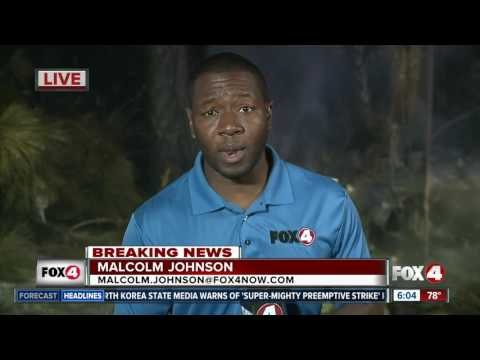 Collier County fires - 6AM Friday update