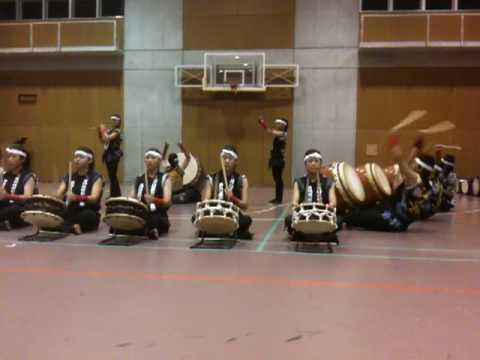 Japanese wadaigo show in JICA OSAKA INTERNATIONAL CENTER 2009 1