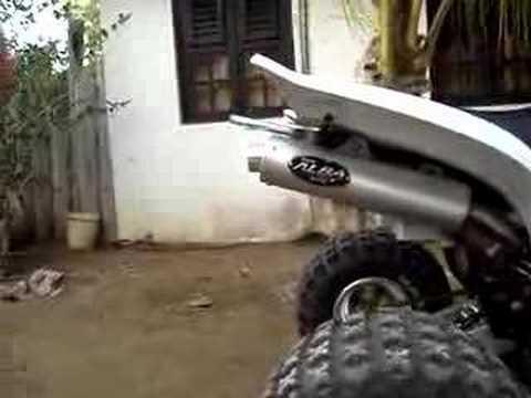 Raptor 660 Alba Exhaust