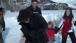 One Tree Hill - OTH Snow Fight in Utah Filming Season Finale - Pt.1
