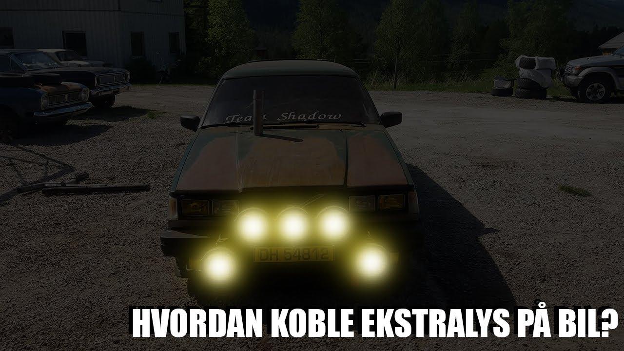 Hvordan Koble Ekstralys På Bil?