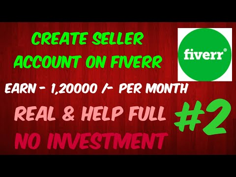 #fiverr how to create seller account on fiverr | fiverr pr seller account kase banaye | part 2