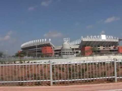 Peter Mokaba Stadium Polokwane drive-around view