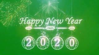 Green screen happy new year 2020 Top green screen happy new year 2020