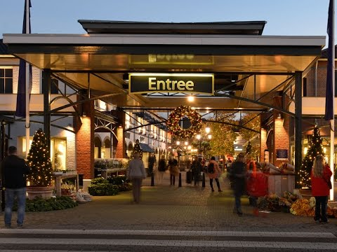 Designer outlet roermond youtube for Outlet design
