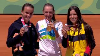 Gold for Argentina, Slovakia and Japan on Final Day of Tennis at Youth Olympic Games