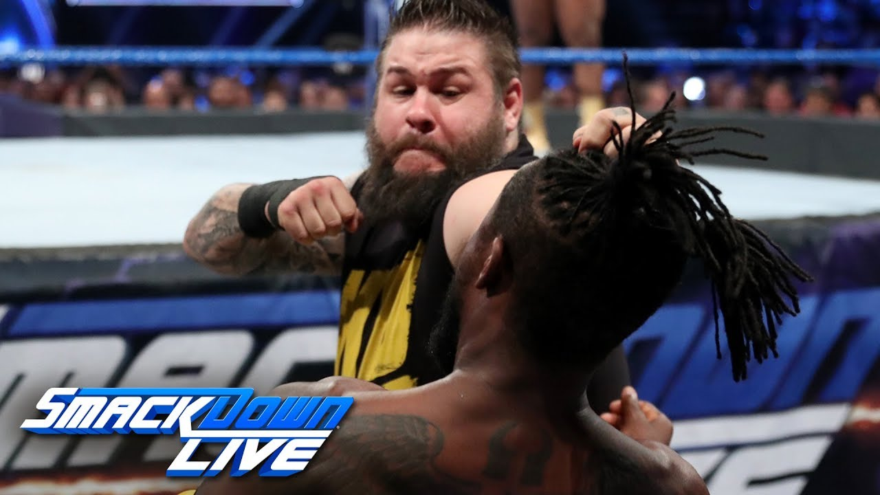 The New Day vs. Dolph Ziggler, Kevin Owens & Sami Zayn: SmackDown LIVE, June 11, 2019