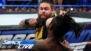 The New Day vs. Dolph Ziggler, Kevin Owens & Sami Zayn: SmackDown LIVE, June 11, 2019