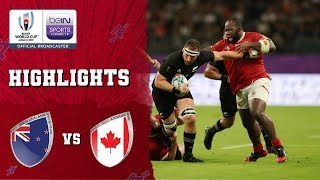 New Zealand 63-0 Canada | Rugby World Cup 2019 Match Highlights