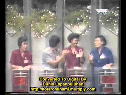 Acara Kuis Berpacu Dalam Melody TVRI 80-an