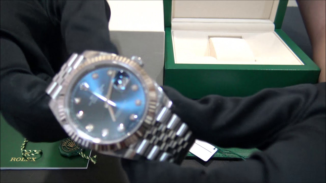 205fee29bbf Rolex Datejust II 126334 Azul con Diamantes 2018
