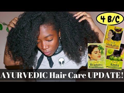 Finger Detangle w/ ME! Ayurvedic hair care