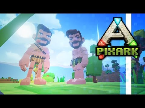 PixARK:Harmony? A Co-op Series w/ PythonGB! ▫ Ep.01 ▫ PixARK Multiplayer Gameplay