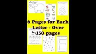 Teaching The Alphabet For Only $1 Worksheet Printables For The Daycare And Classroom