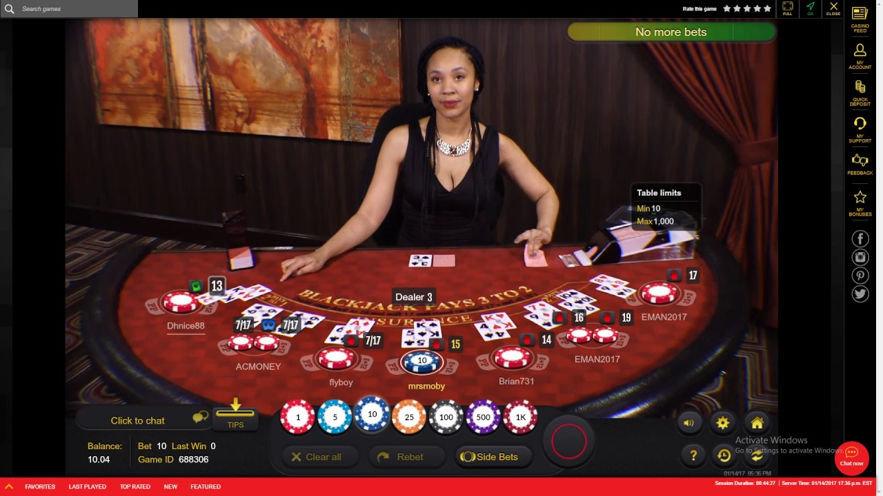 Online Casinos Live Dealers