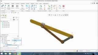 TUTORIAL: Simple Slider Crank Mechanism Using Creo-2
