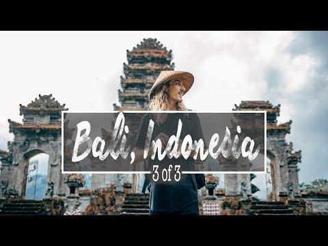 Hidden Temple In Bali, Indonesia