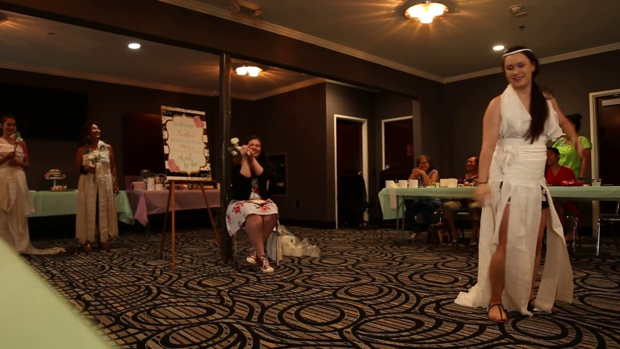 project runway toilet paper challenge toilet paper bridal shower game