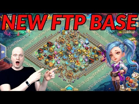 NEW BASE FOR MAIN F2P. WITH GAME PLAY. CASTLE CLASH.