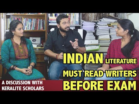 INDIAN LITERATURE (UGC NET ENGLISH) . A Discussion with scholars from KERALA