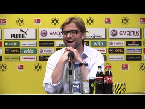 Internationale Pressekonferenz mit Jürgen Klopp