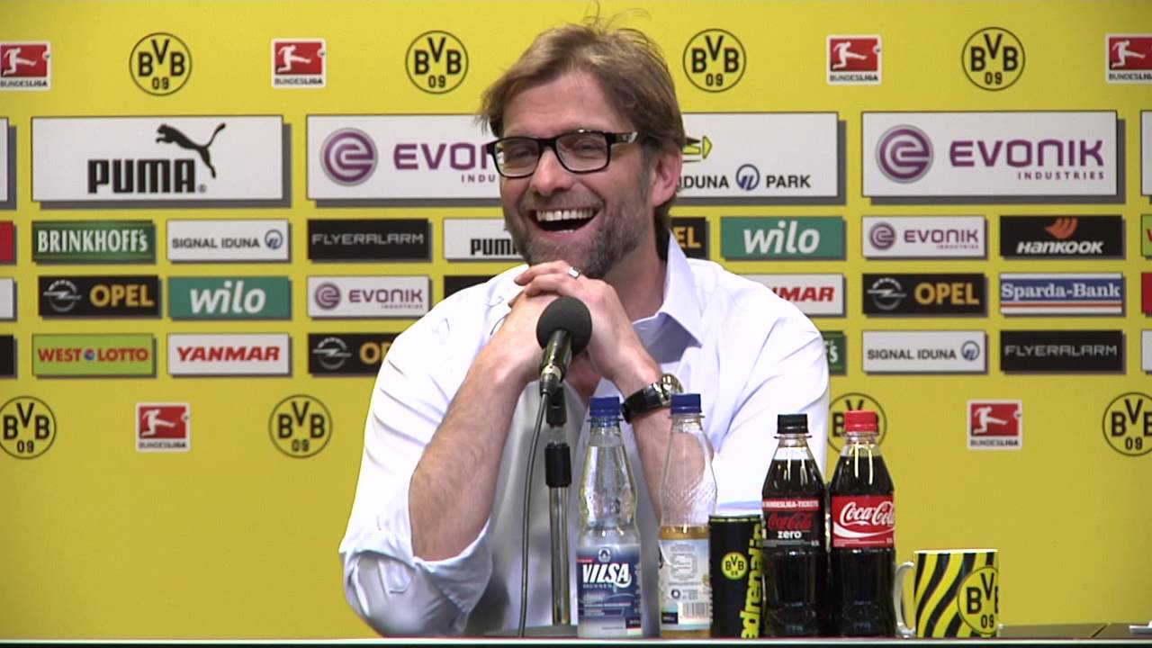 Internationale Pressekonferenz mit Jürgen Klopp