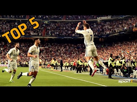 Top 5: Cristiano Ronaldo-Jubel | SPORT1 Rankings