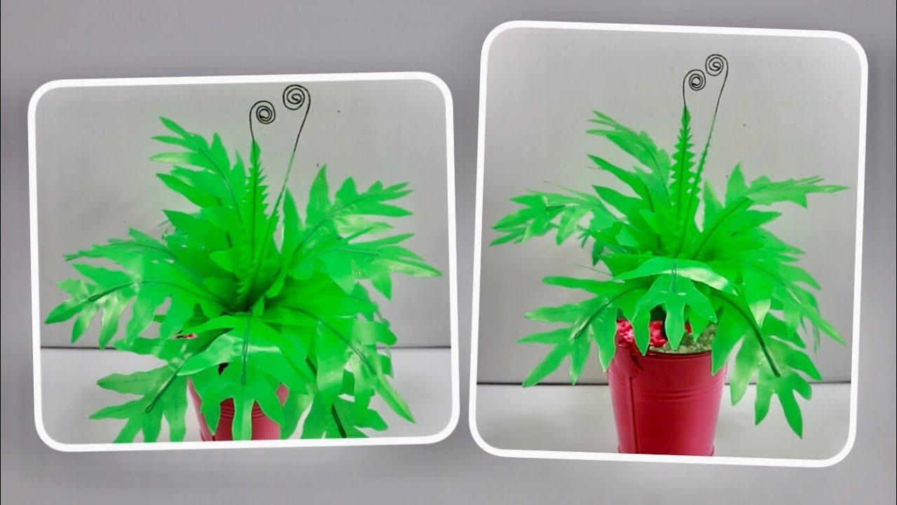 Ide Kreatif dari Kantong Plastik menjadi Tanaman Hias yang Cantik dan  Menarik 50ba7fa7cc