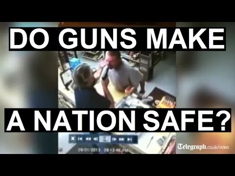Do Guns Make A Nation Safe?