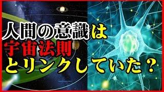 【驚愕の科学】人間の意識は宇宙法則とリンクしていた!「人間の意識は...