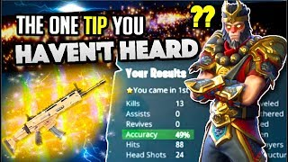 SECRET Tip REVEALED! Improve Aim on Fortnite Battle Royale
